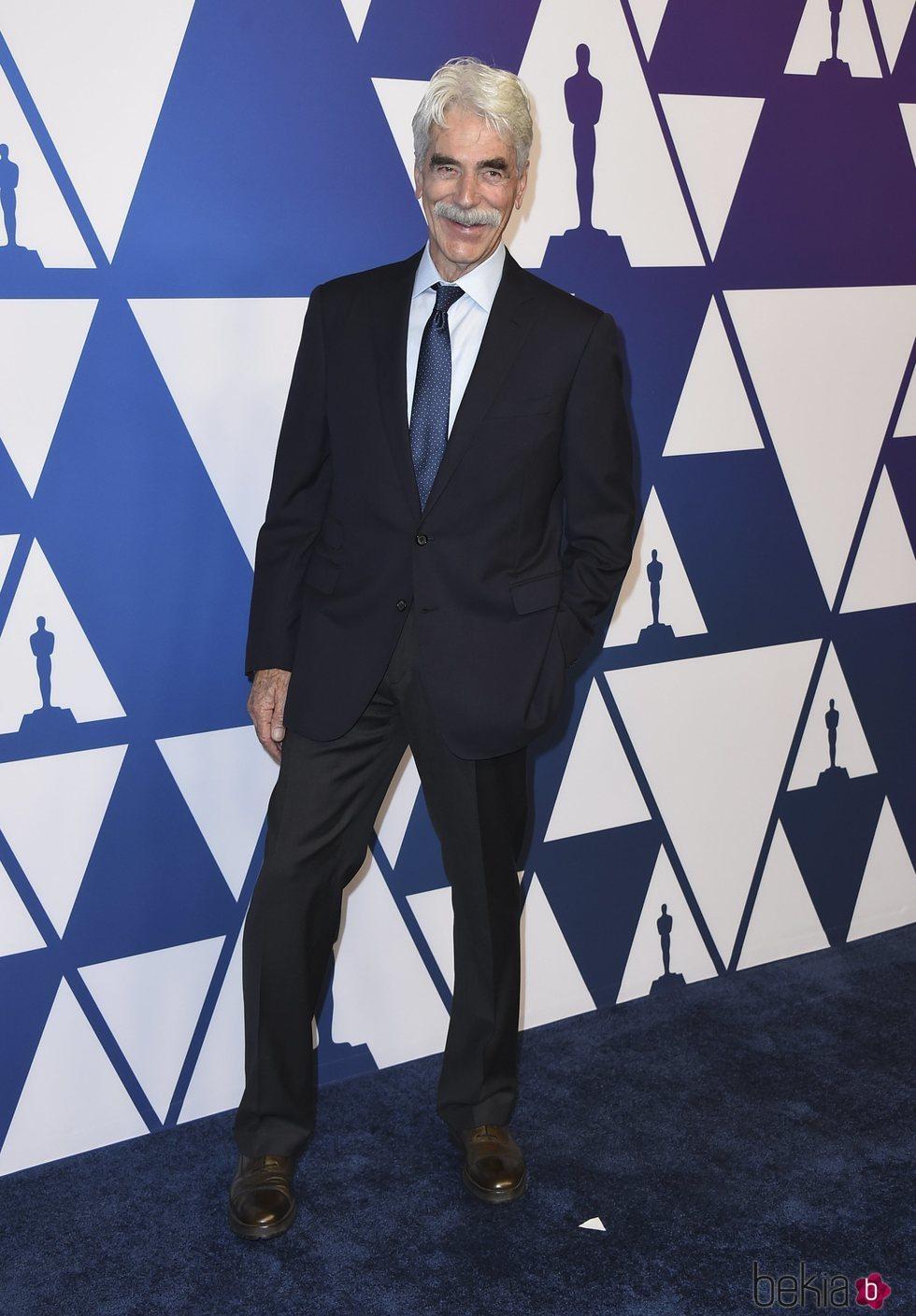 Sam Elliott en el almuerzo de nominados de los Premios Oscar 2019