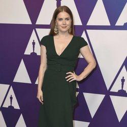 Amy Adams en el almuerzo de nominados de los Premios Oscar 2019