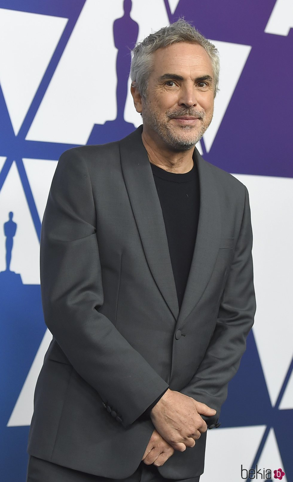 Alfonso Cuarón en el almuerzo de nominados de los Premios Oscar 2019