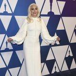Lady Gaga en el almuerzo de nominados de los Premios Oscar 2019