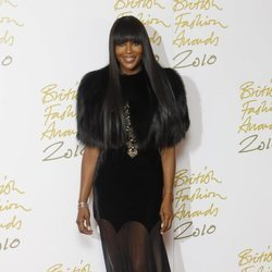 Naomi Campbell en los British Fashion Awards