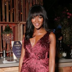 Naomi Campbell en los Golden Globes afterparty