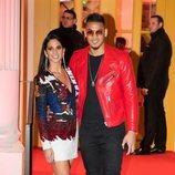 Alphonse Areola y Marion en la fiesta de cumpleaños de Neymar