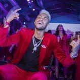 Neymar en su fiesta de cumpleaños