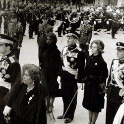 Funeral por el Rey Pablo I de Grecia en Atenas