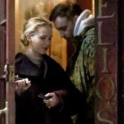 Jennifer Lawrence y su pareja Cooke Maroney