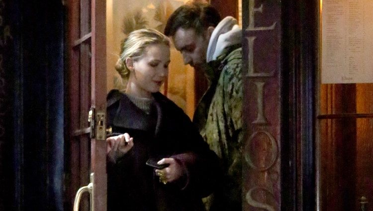 Jennifer Lawrence y su pareja Cooke Maroney