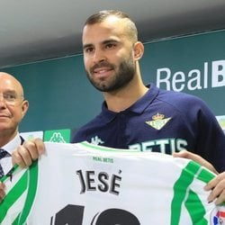 Jesé Rodríguez presentado como nuevo jugador del Betis