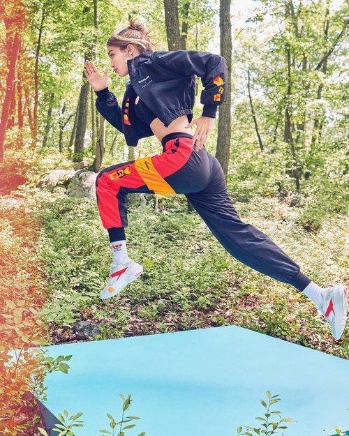 La modelo Gigi Hadid fue imagen de la firma deportiva en 2019