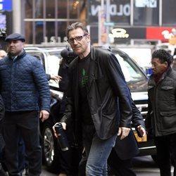 Liam Neeson por las calles de Nueva York