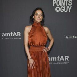 Michelle Rodriguez en la gala amFAR 2019