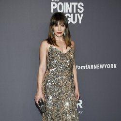 Milla Jovovich en la gala amFAR 2019