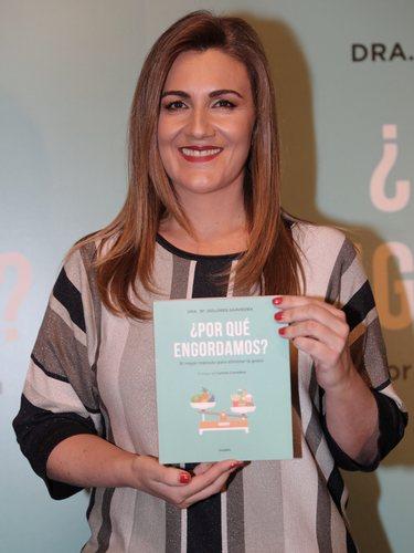 Carlota Corredera en la presentación del libro '¿Por qué engordamos?' de María Dolores Saavedra