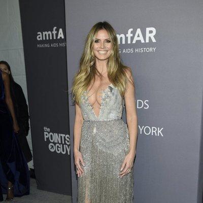 Heidi Klum en la gala amFAR 2019