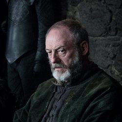 Ser Davos en la octava temporada de 'Juego de Tronos'