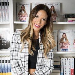 Tamara Gorro en la presentación de su libro 'Rendirse Nunca'
