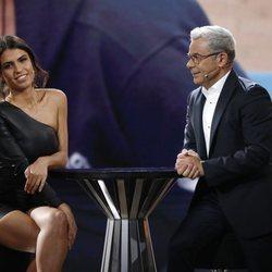Sofía Suescun y Jorge Javier Vázquez durante la entrevista en la gala 6 de 'GH DÚO'