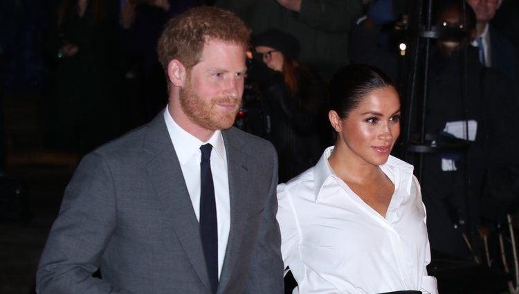 El Príncipe Harry y Meghan Markle en los Endeavour Fund Awards 2019