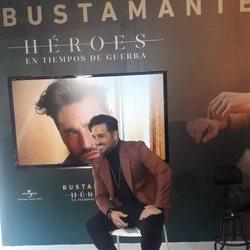 David Bustamante en la presentación de su nuevo disco