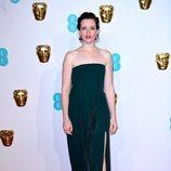 Claire Foy en la alfombra roja de los Premios BAFTA 2019