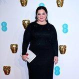Melissa McCarthy en la alfombra roja de los Premios BAFTA 2019