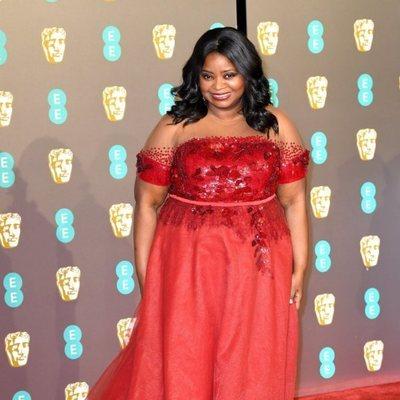 Octavia Spencer en la alfombra roja de los Premios BAFTA 2019