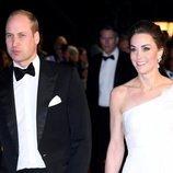 Los Duques de Cambridge en la gala de los Premios BAFTA 2019