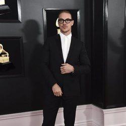 Diplo en la alfombra roja de los Grammy 2019
