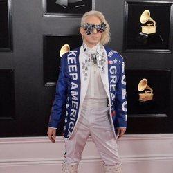 Ricky Rebel en la alfombra roja de los Grammy 2019