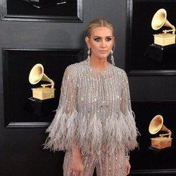 Ashlee Simpson en la alfombra roja de los Grammy 2019