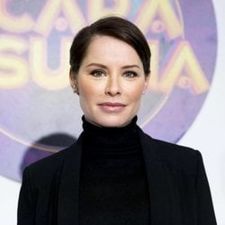 Soraya Arnelas posando como tercera finalista de 'Tu cara me suena 7'