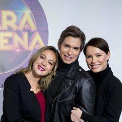 María Villalón, Carlos Baute y Soraya Arnelas, finalistas de 'Tu cara me suena 7'