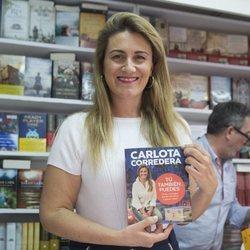 Carlota Corredera en la presentación de su libro