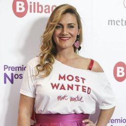 Carlota Corredera sonriente durante los premios Cadena 100 en Bilbao