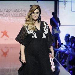Carlota Corredera durante el 'Sálvame Fashion Week'