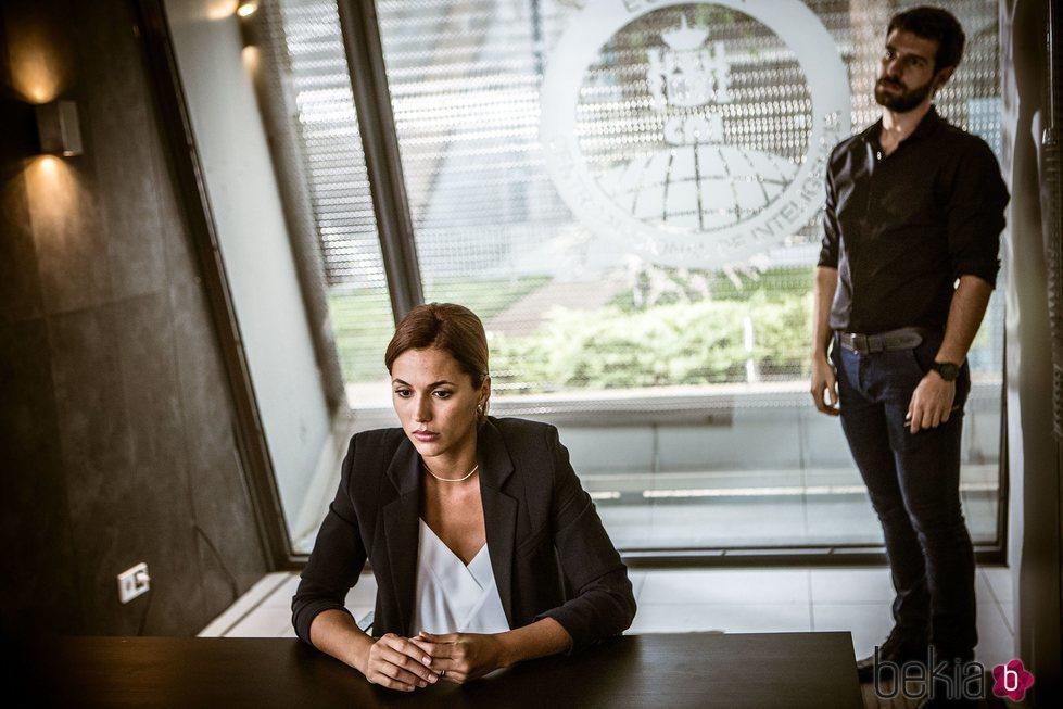 Michelle Calvó en una escena de 'Secretos de Estado'