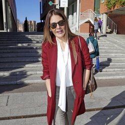 Ivonne Reyes en los juzgados de Alcobendas