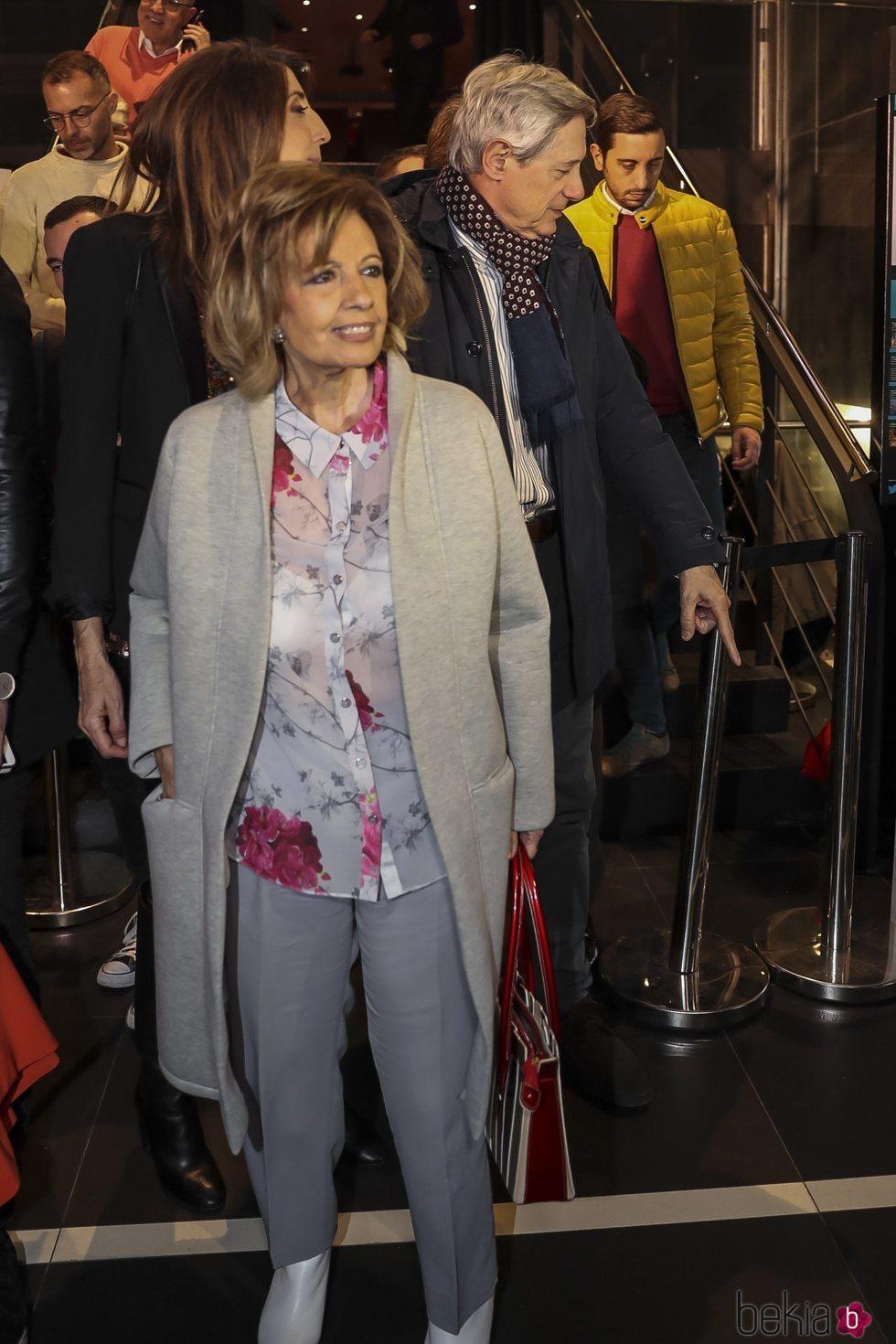 María Teresa Campos en la presentación del libro de Risto Mejide