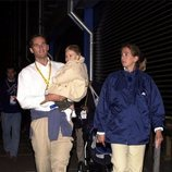 La Infanta Cristina e Iñaki Urdangarin con su hijo Juan Urdangarin en Sydney