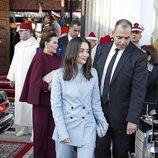 Lalla Oum de Marruecos en la recepción a los Reyes Felipe y Letizia en Rabat