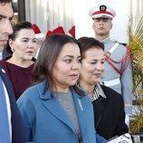 Lalla Asma de Marruecos en la recepción a los Reyes Felipe y Letizia en Rabat