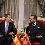 El Rey Felipe y Mohamed VI en la firma de acuerdos bilaterales entre España y Marruecos