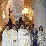 La Familia Real de Marruecos en la cena de gala a los Reyes Felipe y Letizia en Rabat