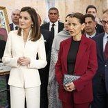 La Reina Letizia y Lalla Meryem en su visita a la Escuela de la Segunda Oportunidad de Salé