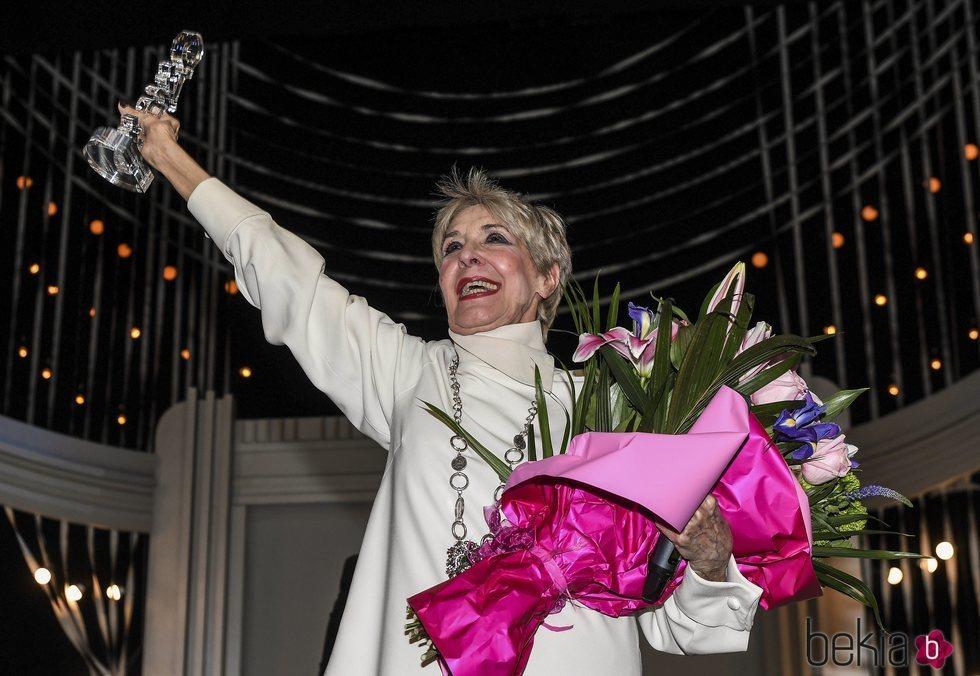 Concha Velasco recibe el primer Premio Teatro Málaga