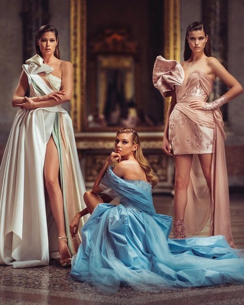 Estética greco romana para Primavera/verano 2020 de Atelier Versace