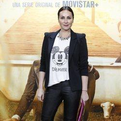 Ana Milan en el estreno de 'El Embarcadero'
