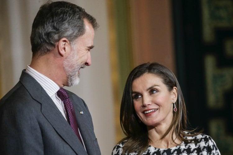 Los Reyes Felipe y Letizia, muy cómplices en la entrega de las Medallas de Oro al Mérito en las Bellas Artes 2017