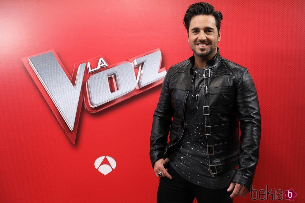 David Bustamante, como asesor de 'La Voz'