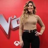 Miriam Rodríguez, como asesora de 'La Voz'